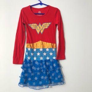 Wonder Woman PJs size 7/8 kids